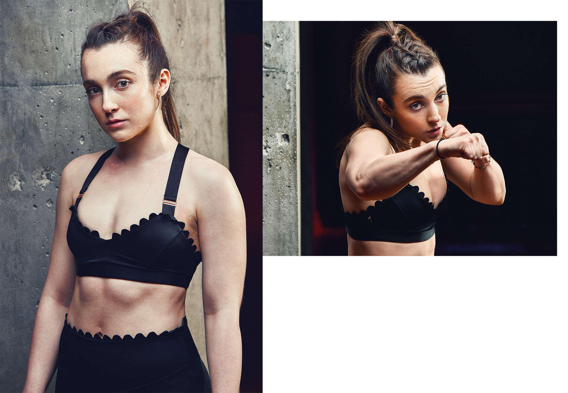 Boxing athlete editorial nyc